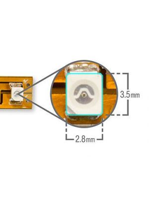 Amber 3528 Series Surface Mount LED